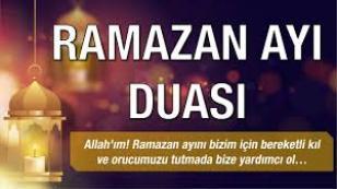Ramazan Ayı Duası-Sahur Duası-İftar Duası