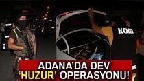 Adana'da 410 polisle narkotik uygulaması
