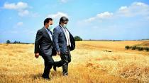 Başkan Uludağ çiftçilerin de hizmetinde!