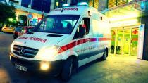 Nehir yatağında yaralı bulunan kadın hastaneye kaldırıldı