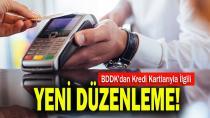 BDDK'dan kredi kartlarıyla ilgili yeni düzenleme