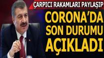 İşte Türkiye'de bugünkü koronavirüs tablosu