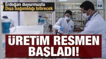 Türkiye'de bir ilk yaşanıyor, hammaddeden kutuya tamamı yerli, kapılarını ilk kez açtı