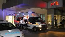 Yolda duran motosiklete kamyonet çarptı: 1 ölü, 1 yaralı