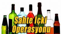 600 bin liralık kaçak içki ele geçirildi