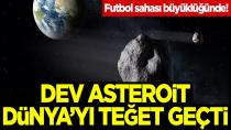 2009 PQ1 Futbol sahası büyüklüğündeki asteroit, Dünya'yı teğet geçti