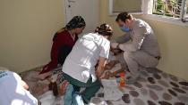Ceyhan Belediyesi'nin sağlık melekleri iş başında!