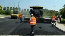 Büyükşehir çalışıyor yollar asfaltlanıyor!
