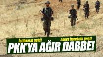 SİHA'lardan PKK'ya nokta operasyon! Öldürüldüler, yakalandılar!