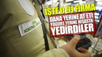Dana yerine at eti, yoğurt yerine nişasta yedirdiler! Bakanlık gıdada hile yapan 91 firmayı ifşa etti