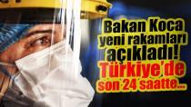 22 Eylül Türkiye koronavirüs tablosu!