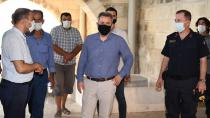 Vali Elban Misis'i İnceledi…