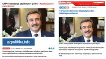 Başkan Soner Çetin Azerbaycan basınında!