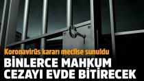 On binlerce mahkum cezasını izinde bitirecek!
