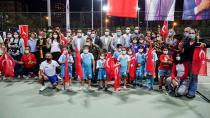 Büyükşehir'in Cumhuriyet temalı tenis turnuvası sona erdi