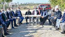 MHP'li Başkanlar, vatandaşların sorununu dinledi