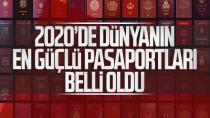 İşte 2020 yılının en güçlü pasaportları… Bakın Türkiye kaçıncı sırada!