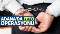 Adana merkezli 3 ilde FETÖ operasyonu: 7 gözaltı