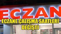 Adana'da Eczaneler; 08:3 –18:00 Saatleri Arasında Hizmet Verecek