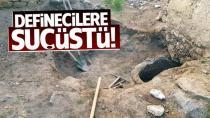 Adana'da kaçak kazı yapan 8 kişi gözaltına alındı