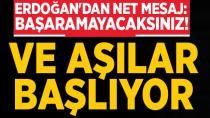 Erdoğan, 'Aşılama Perşembe veya Cuma günü başlanacak'