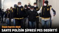 Adana'da sahte polisin şifresi pes dedirtti!