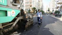 Büyükşehir 25 ayrı noktada asfalt çalışmasını sürdürüyor…