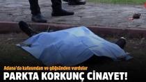 Çocuk parkında cinayet...