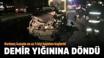 Adana-Ankara yolunda katliam gibi kaza: Bir aile yok oldu!
