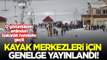 İçişleri Bakanlığı, 81 il valiliğine kayak merkezleri için genelge gönderdi...