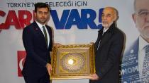 Saadet Partisi Adana'da görev değişikliği...