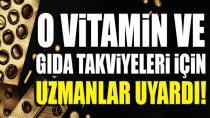 İnternetten alınan vitamin ve gıda takviyeleri sahte olabilir!