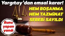 Yargıtay'dan erkeklere kötü haber!..