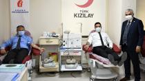 Vergi Haftasını kan bağışı yaparak kutladılar