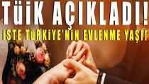 Türkiye'nin evlenme yaşı belli oldu