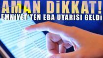 EBA ismi kullanılarak yapılan dolandırıcılığa dikkat