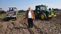 Belediyenin tarlaları ilk kez halkın yararına ekildi...
