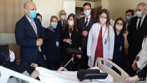 Yüreğir Devlet Hastanesi Kadın Hastalıkları ve Doğum Servisi açıldı