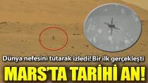 NASA'dan Mars'ta tarihi uçuş! İlk kez...