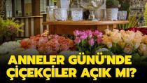 Çiçekçi esnafı Anneler günü için hafta sonu açık