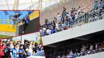 Tam kapanmada tribünleri dolduran Adana Demirspor ve Giresunspor'a para cezası