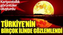 Türkiye'nin birçok ilinde gözlemlendi...