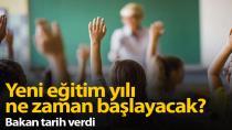 Bakan Selçuk'tan son dakika yüz yüze eğitim açıklaması