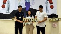 Adana'nın şampiyon öğrencileri Ankara biletini kaptı