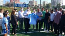 Muharrem Varlı'dan Çukurova Demirspor'a ziyaret…