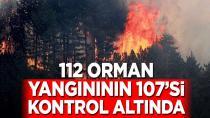 İşte il il devam eden kontrol altına alınan yangınlar!