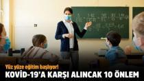 Okullarda Covid-19'a karşı 10 altın kural