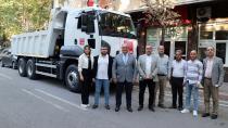 Pozantı Belediyesi'ne damperli kamyon hibe edildi...