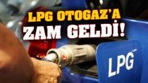 Bir zam da LPG'ye