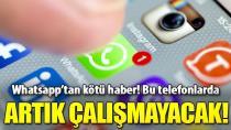 Whatsapp 1 Kasım tarihinden itibaren bu telefonlarda çalışmayacak